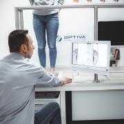 Optiva Free Fuß Scanner für Schuheinlagen