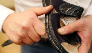 Schuhzurichtungen bei Fehlstellungen